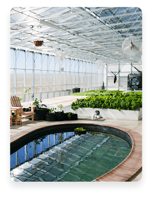 inside ceres greenhouse