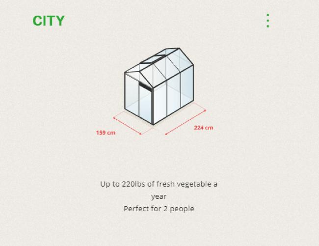MyFood Smart Greenhouse City