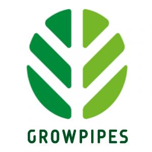 growpipes logo white-green